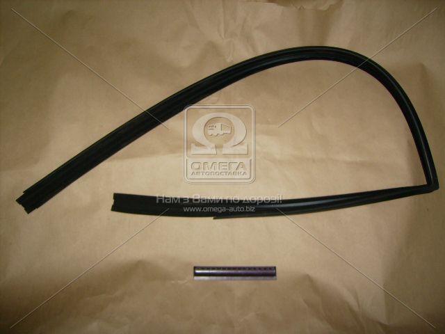 Уплотнитель стекла опускного ВАЗ 2108, 2113 передний правый (БРТ). 2108-6103292Р