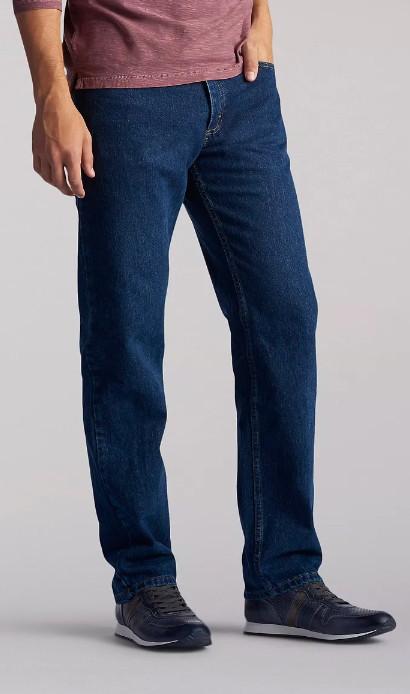 Джинсы Lee Regular Fit jeans - DARK STONEWASH