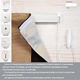 Римские шторы модель Призма ткань Лен - лайт, фото 6