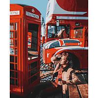 Картина по номерам 40*50 см Лондон Time