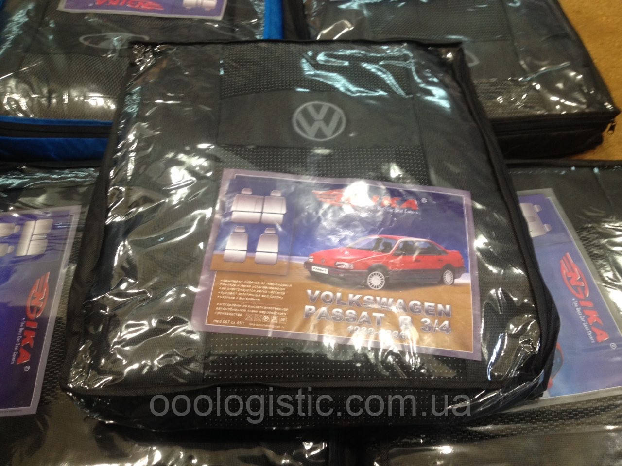 Авточохли на Volkswagen Passat B3/4 1988-1996 року Nika