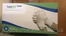 Перчатки латексные смотровые, облегченные, неопудренные, Белые (100шт/уп)  S