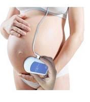 Портативный Ультразвуковой допплеровский детектор сердцебиения плода Baby Sound A