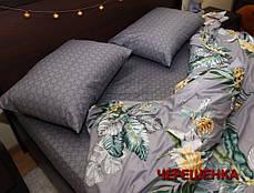 Двуспальный набор постельного белья 180*220 из Сатина №032AB Черешенка™, фото 2