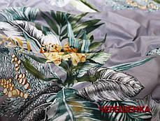Двуспальный набор постельного белья 180*220 из Сатина №032AB Черешенка™, фото 3