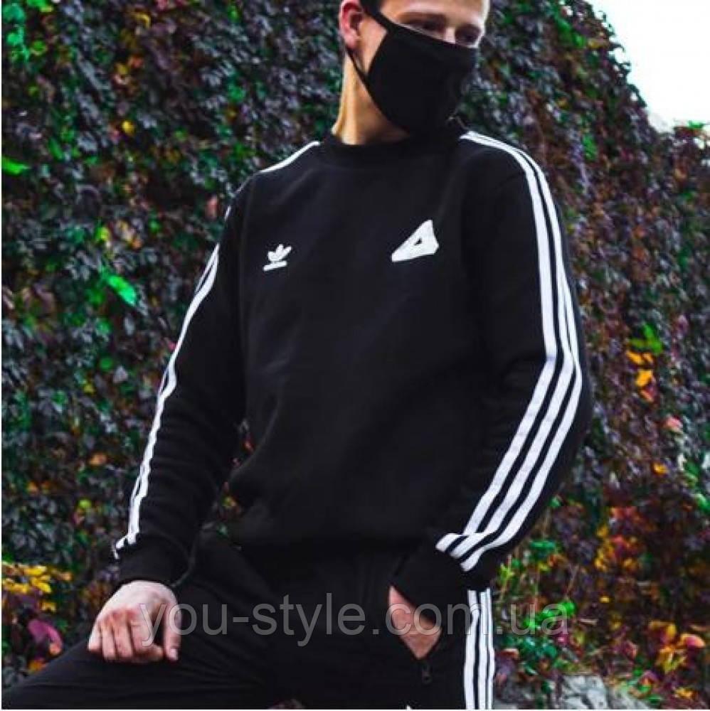 Теплый свитшот Adidas Palace черный