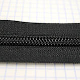 Молния спиральная тип 8 YKK чёрная (2 м.), фото 4