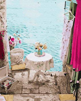 Картина по номерам 40х50 см Brushme Укромное местечко Италии (GX 25396)