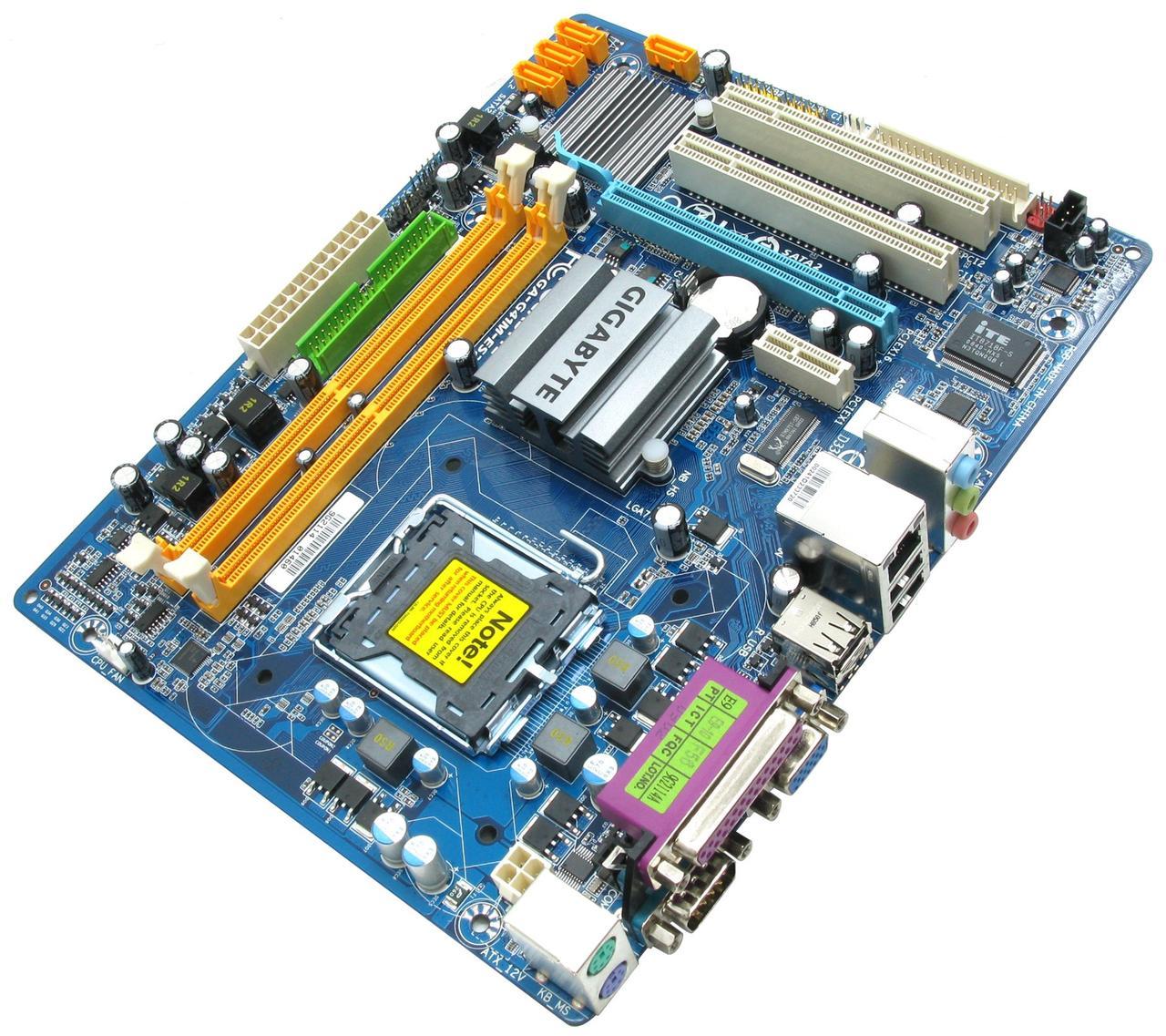 Мат. плата GIGABYTE GA-G41M-ES2L LGA775, підтримка Xeon, (б/в)
