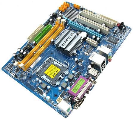 Мат. плата GIGABYTE GA-G41M-ES2L LGA775, підтримка Xeon, (б/в), фото 2