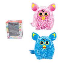 М'яка інтерактивна іграшка Ферби рожева або блакитна, сенсор, звук