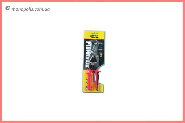Ножницы по металлу Mastertool - 250 мм, правые 01-0426, фото 2