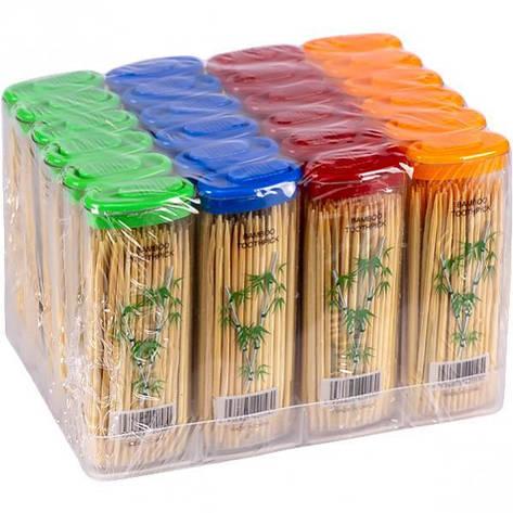 Зубочистки бамбукові «кишенькові» 63 мм,70 шт, фото 2