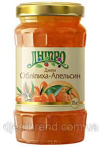 Джем Облепиха-Апельсин ТМ Днепр, 375 гр.
