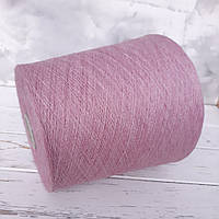 Пряжа Бавовна 85% Кашемир15%,Filato. рожевий. Відтінок гіацинт. меланж., фото 1
