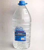 Дистиллированная вода 5л канистра техническая для авто, автохимии STANDART Дорожная карта (48021027570)