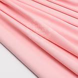Лоскут сатина цвет розовой пудры №1530с, размер 54*20 см, фото 2