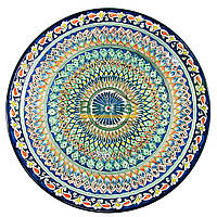 Ляган узбецький (тарілка узбецька) 55см діаметр ручна робота 5506-06