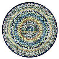 Ляган узбецький (тарілка узбецька) 55см діаметр ручна робота 5506-07
