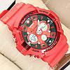 Яркие спортивные наручные часы G-Shock GA-200 Red 1006-0211