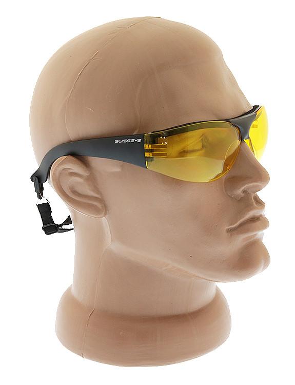 Спортивні окуляри захисні MIL-TEC Swiss Eye® Protector (жовті скла), 15622015