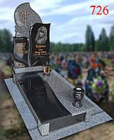 Пам'ятник фігурний з покостівського граніту та базальту, фото 1