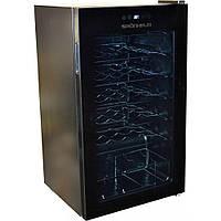 Винный шкаф Grunhelm GWC-34, (нерж. сталь, 34 бутылки 85 см) холодильник для вина
