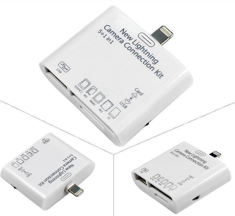 5в1 Camera Connection Kit Ipad4/mini USB кардридер
