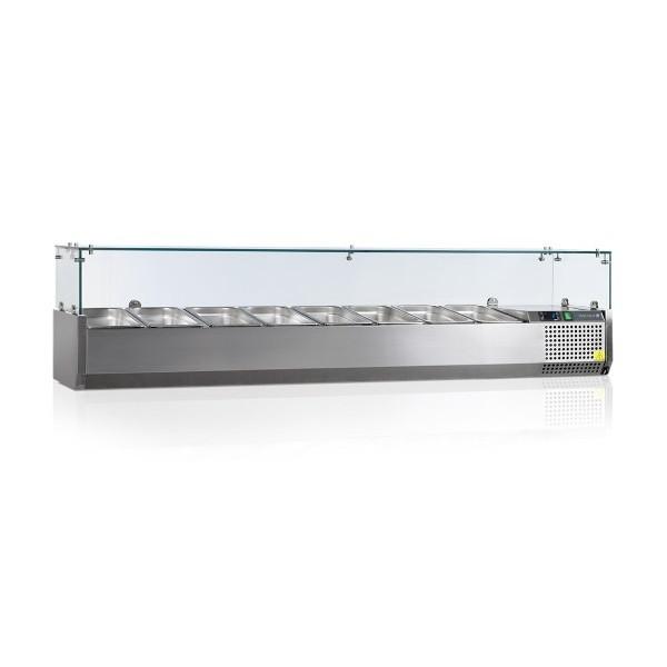 Вітрина холодильна настільна Tefcold VK38-180-I