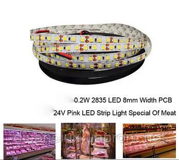 Світлодіодний LED чіп Citizen1919/17 30W 30-32V для підсвічування м'ясних вітрин рожевий