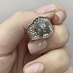 Серебряное кольцо Морская звезда