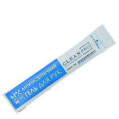 Антисептический гель CLEAN STREAM в стиках (КС-0001) 3мл, 1шт (1уп/100шт)