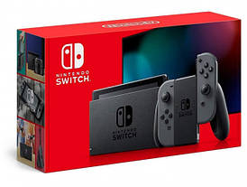 Игровая консоль Nintendo Switch (Gray Joy Con)