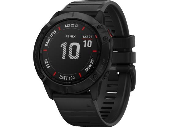 Спортивні годинник GARMIN FENIX 6X PRO BLACK WHICH BLACK BAND