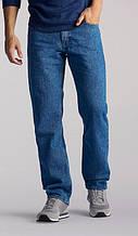 Оригинальные джинсы Lee Regular Fit Straight Leg  Pepper Stone
