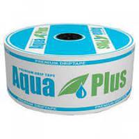 Лента Капельная AquaPlus 8 mil/20 см, водовылив 5 л/час, в бухте 1000м