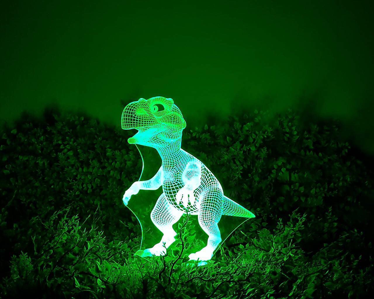 Нічник 3D світильник «Динозаврик»