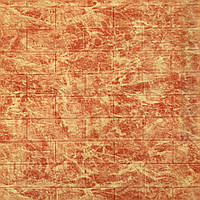 3Д панель декоративная стеновая кирпич Яркий Мрамор (самоклеющиеся 3d панели для стен оригинал) 700x770x5 мм