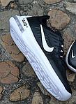 Мужские кроссовки Nike Air Max Axis (черно-белые) 340TP весенние спортивные кроссы для бега, фото 8