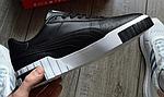 Жіночі весняні кросівки Puma cali (чорно-білі) спортивні кеди демісезонні, фото 5