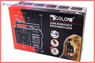 Радіоприймач Golon - RX-9966UAR, фото 3
