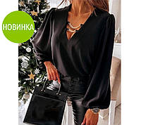 """Жіноча блуза з декором """"Palmer"""", фото 1"""