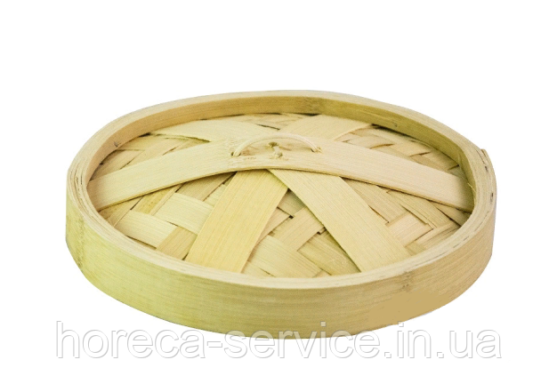Кришка для парового кошика бамбук 22 см.