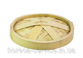 Крышка для парового лукошка бамбук 22 см.