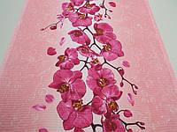 Тканина Вафельна Ширина 50 см. Орхідея, фото 1