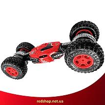 Машинка перевертиш на радіокеруванні Dance Monster RQ-2028 - трюкових всюдихід, трансформер 40 см Червона, фото 3