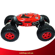 Машинка перевертиш на радіокеруванні Dance Monster RQ-2028 - трюкових всюдихід, трансформер 40 см Червона, фото 2