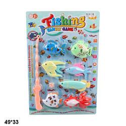 Рибалка дитяча магнітна магнітна вудка 7 морських рибин 255-160