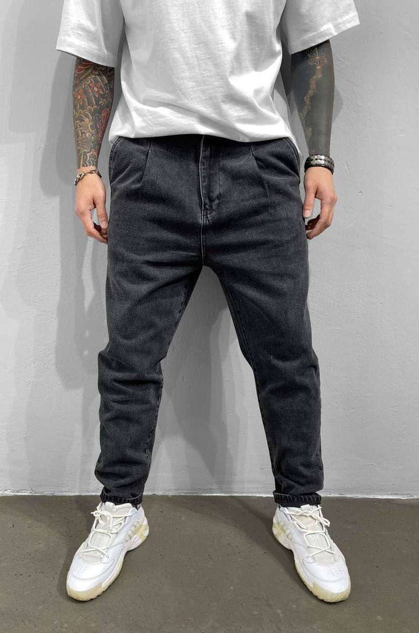 Чоловічі джинси МОМ Black Island 5935-3529 dark grey