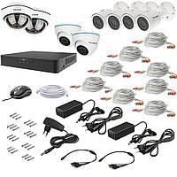 Комплект видеонаблюдения New Tecsar AHD 8MIX 5MEGA